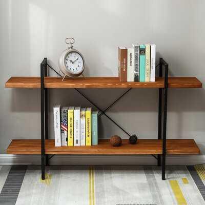 Mignone Tier Etagere Bookcase - Wayfair