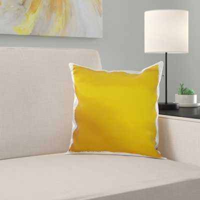 Waville Mustard Pillow Cover - Wayfair