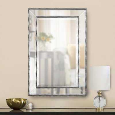 Clarine Beaded Wall Mirror - Wayfair
