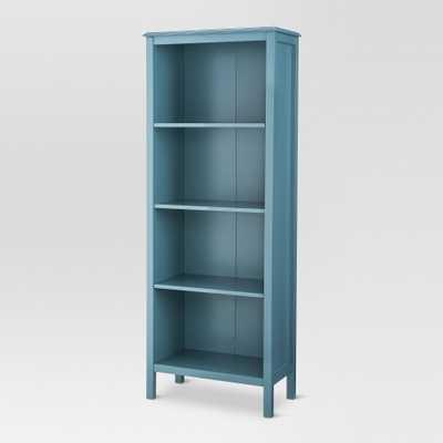 Windham 4-Shelf bookcase - Teal (Blue) - Threshold - Target