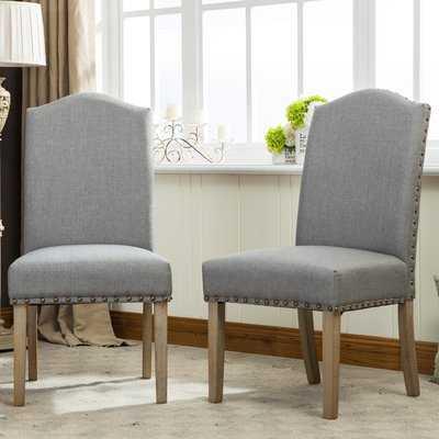 Isla Upholstered Dining Chair (set of 2) - Wayfair