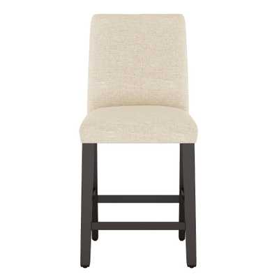 Modern Counter Stool Cream Linen - Project 62 - Target