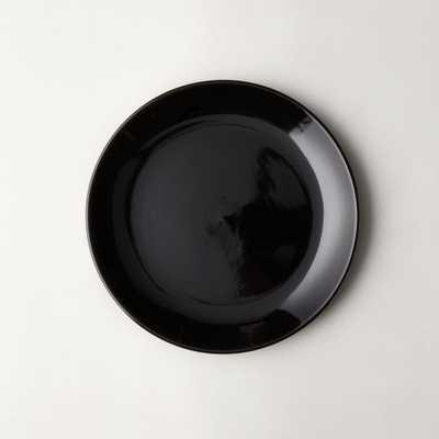 Daphne Black Salad Plate - CB2