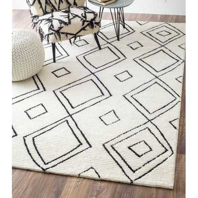 Musselman Hand-Tufted Natural Area Rug - Wayfair