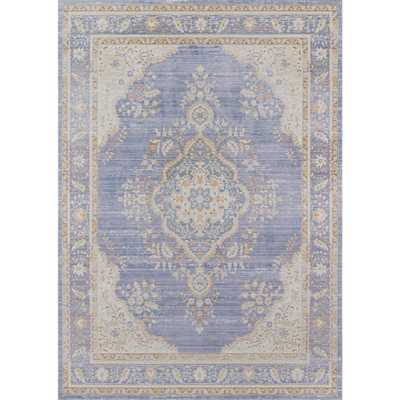 Momeni Isabella Periwinkle (Purple) 9 ft. 3 in. X 11 ft. 10 in. Indoor Area Rug - Home Depot