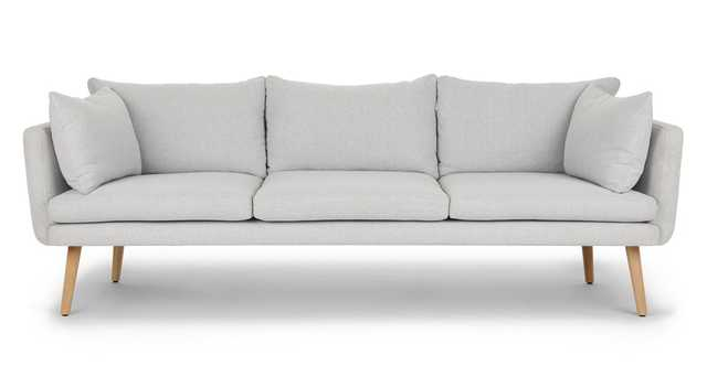 Celsa Drizzle Gray Sofa - Article