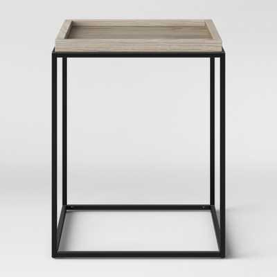 Bennington Mixed Material End Table - Threshold - Target