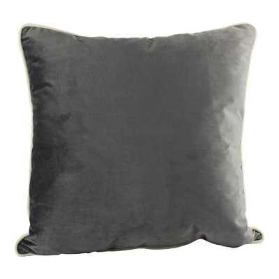Norris Plush Velvet Pillow Cover - Wayfair