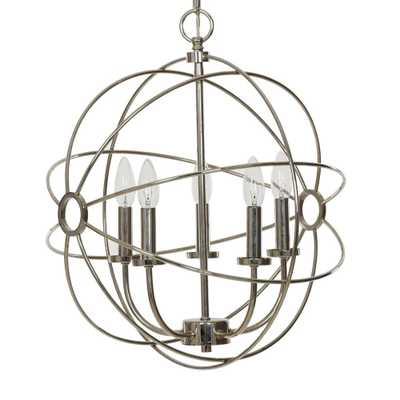 Catalina Lighting 5-Light Chrome Orb Chandelier - Home Depot