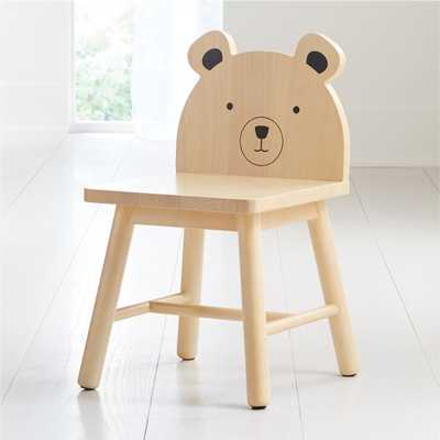 Bear Animal Kids Chair - Crate and Barrel