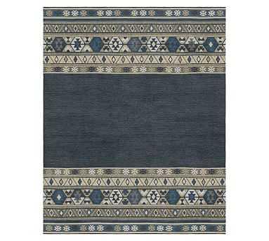 Sedona Custom Kilim Rug, 8 x 10, Blue Multi - Pottery Barn