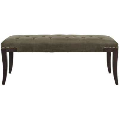 Gibbons Graphite (Grey) Bench - Home Depot