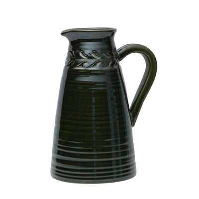 Goins Braid Ribbed Jug Table Vase - Wayfair