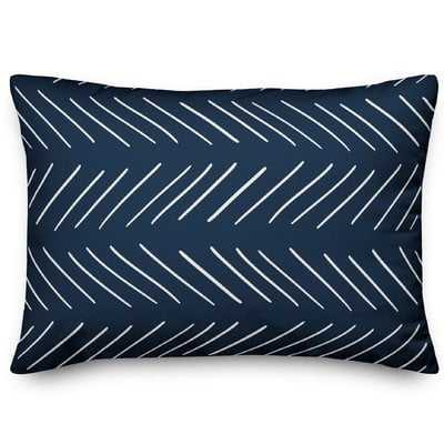 Erico Modern Chevron Lumbar Pillow - Wayfair
