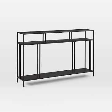 Profile Console-Antique Bronze - West Elm