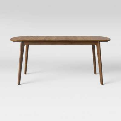 Astrid Mid Century Dining Table with Extention Leaf Brown - Project 62 - Target