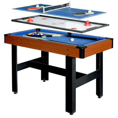Triad 4 ft. 3-in-1 Multi-Game Table - Home Depot