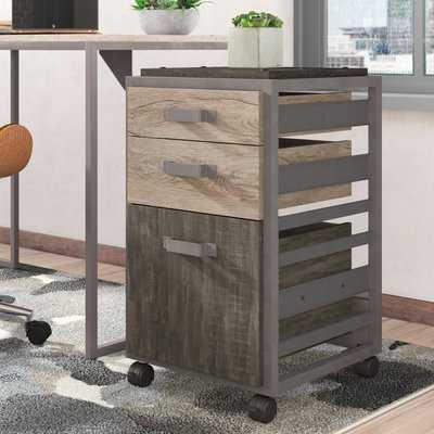 Rosemarie 3-Drawer Vertical Filing Cabinet - AllModern