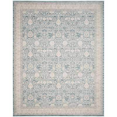 Archive Blue/Grey 9 ft. x 12 ft. Area Rug, Blue/Gray - Home Depot