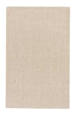Daytona Natural Solid Beige Area Rug (9' X 12') - Collective Weavers