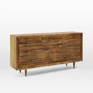 Alexa 7-Drawer Dresser, Light Honey - West Elm