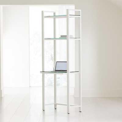Pilsen Salt Modular Desk - Crate and Barrel