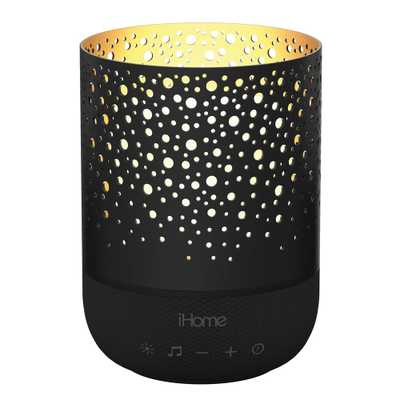 Zenergy Meditative Light and Sound Therapy Candle in Black - Home Depot