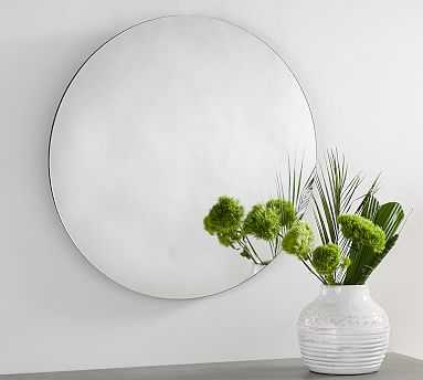 "Turner Mirrors, Round, 30"" diameter - Pottery Barn"