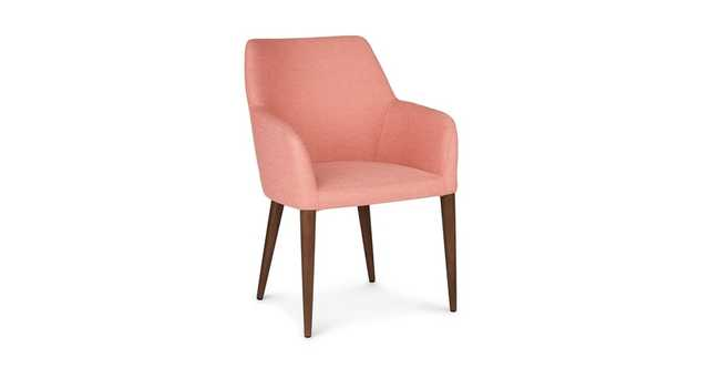 Feast Soft Coral Dining Chair - Article