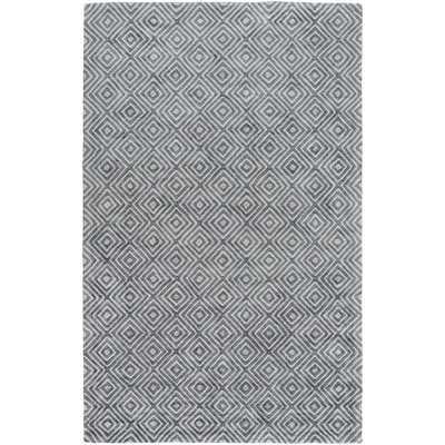 Warmley Hand Woven Gray Area Rug - Wayfair