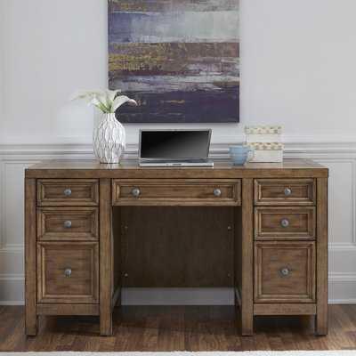 Milford Pedestal Desk - Wayfair