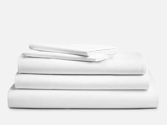 Split King Sheet Set - Classic / Solid White / King - Brooklinen