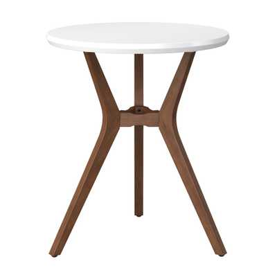 Emmond Mid Century 28 Round Bistro Table White - Project 62 - Target
