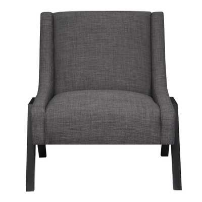 Langley Charcoal (Grey) Accent Chair - Home Depot