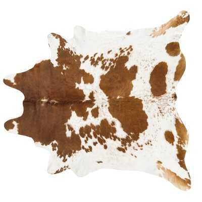 Handmade Brown/White Area Rug - AllModern