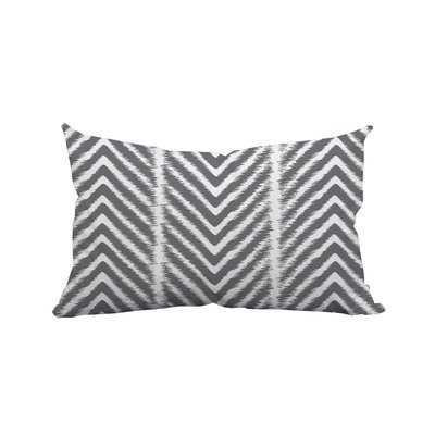 Prestridge Zebra Chevron Print Indoor/Outdoor Lumbar Pillow - Wayfair