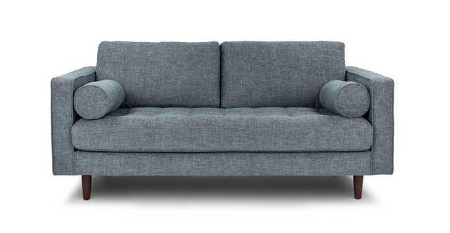 """Sven Aqua Tweed 72"""" Sofa - Article"""