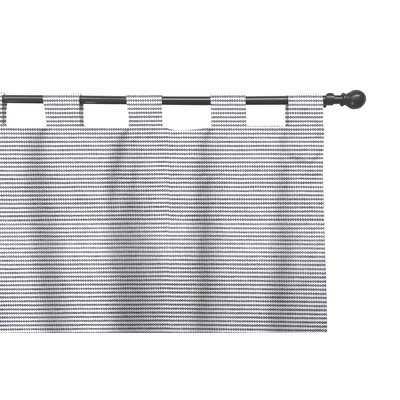 Waltham Fumo Geometric Room Darkening Tab Top Curtain/Drapes - AllModern