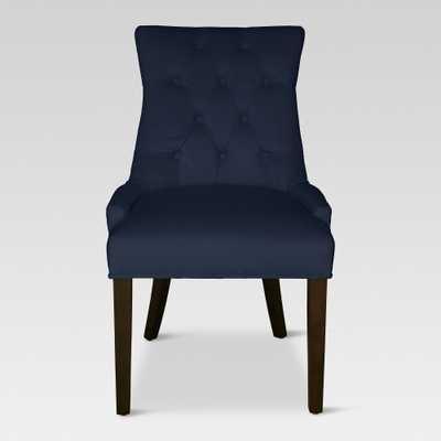 Dining Chairs Navy - Threshold, Navy Velvet - Target