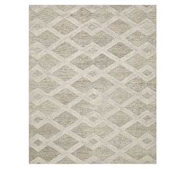 Chase Tufted Rug, 8x10', Natural - Pottery Barn