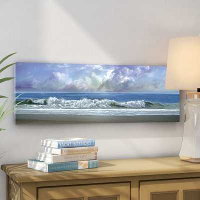 'Watching the Clouds' Oil Painting Print on Wrapped Canvas - Wayfair