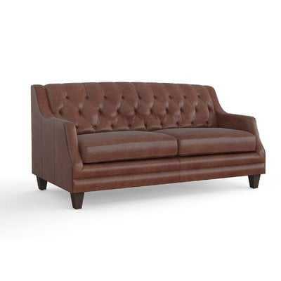 Kashvi Leather Sofa - Wayfair