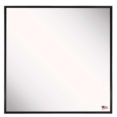 Square Black Wall Mirror - Wayfair