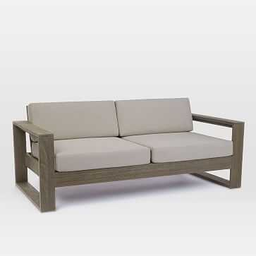 Portside Sofa, Weathered Gray - West Elm