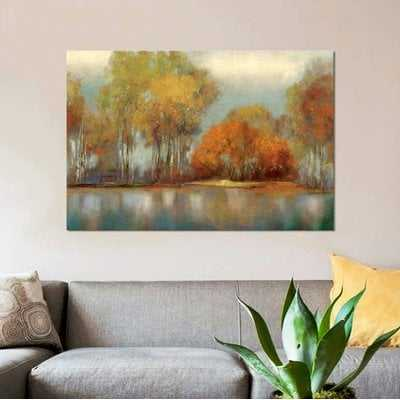 'Reflections I' Print on Canvas - Wayfair