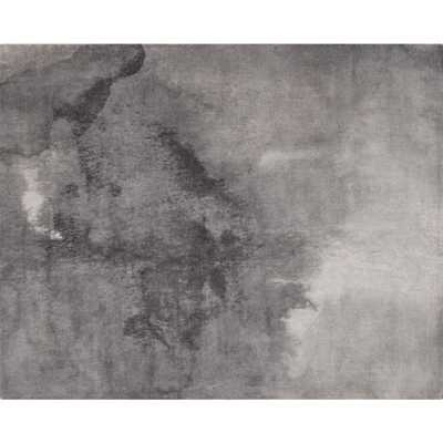 Wash Grey Watercolor Rug 8'x10' - CB2