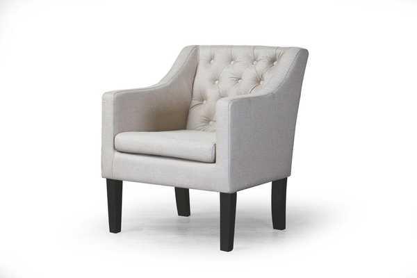 Baxton Studio Brittany Club Chair - Lark Interiors