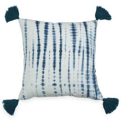 Brentley Tassel Cotton Throw Pillow - Wayfair