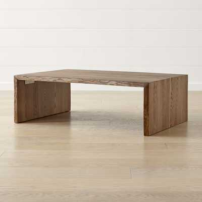 Montana Live Edge Coffee Table - Crate and Barrel