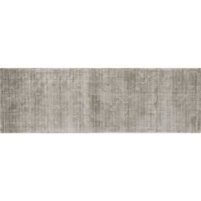 Posh Silver Grey Runner 2.5'x8' - CB2